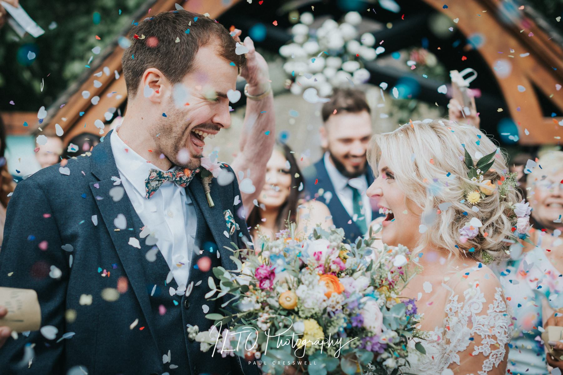 Wedding at home Yorkshire wedding photographer