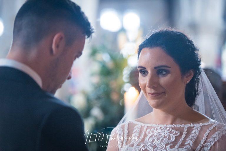 Church wedding photography. Yorkshire wedding photographer.