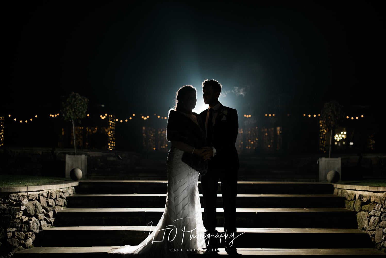 Yorkshire wedding photographer. Creative wedding photographer. Winter wedding.