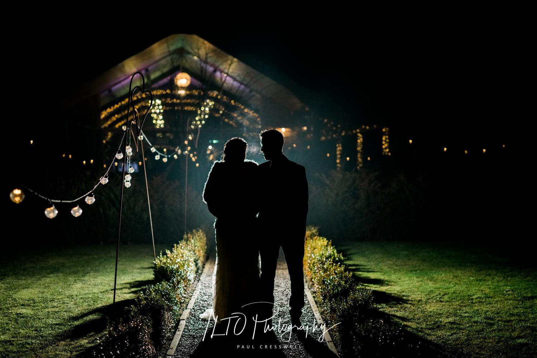Yorkshire Wedding barn, Richmond. Winter Wedding.