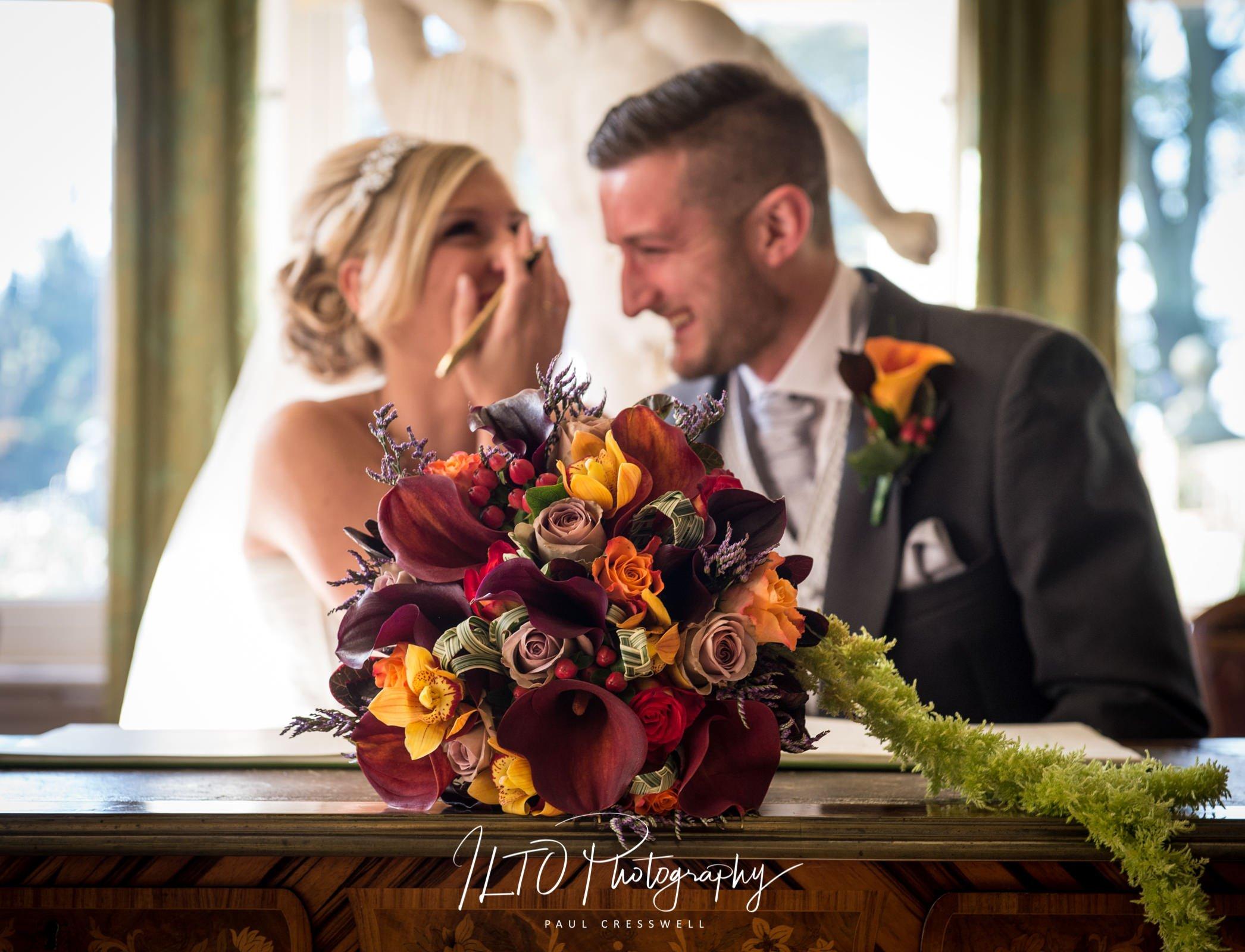 Wakefield photographer funny wedding photo