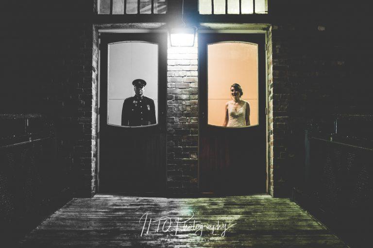 vintage creative wedding photos Yorkshire