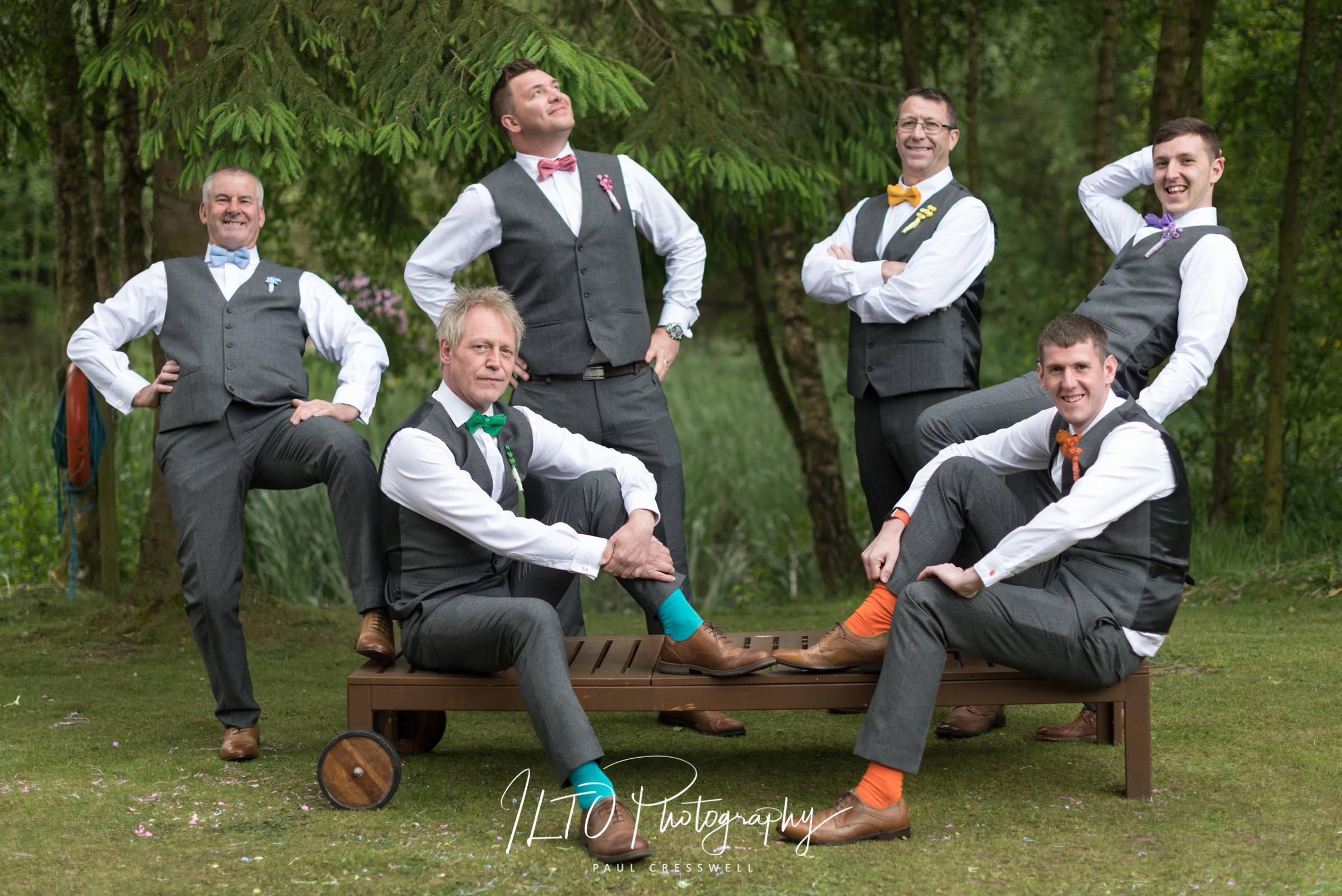 funny wedding photos leeds Yorkshire wedding photographer