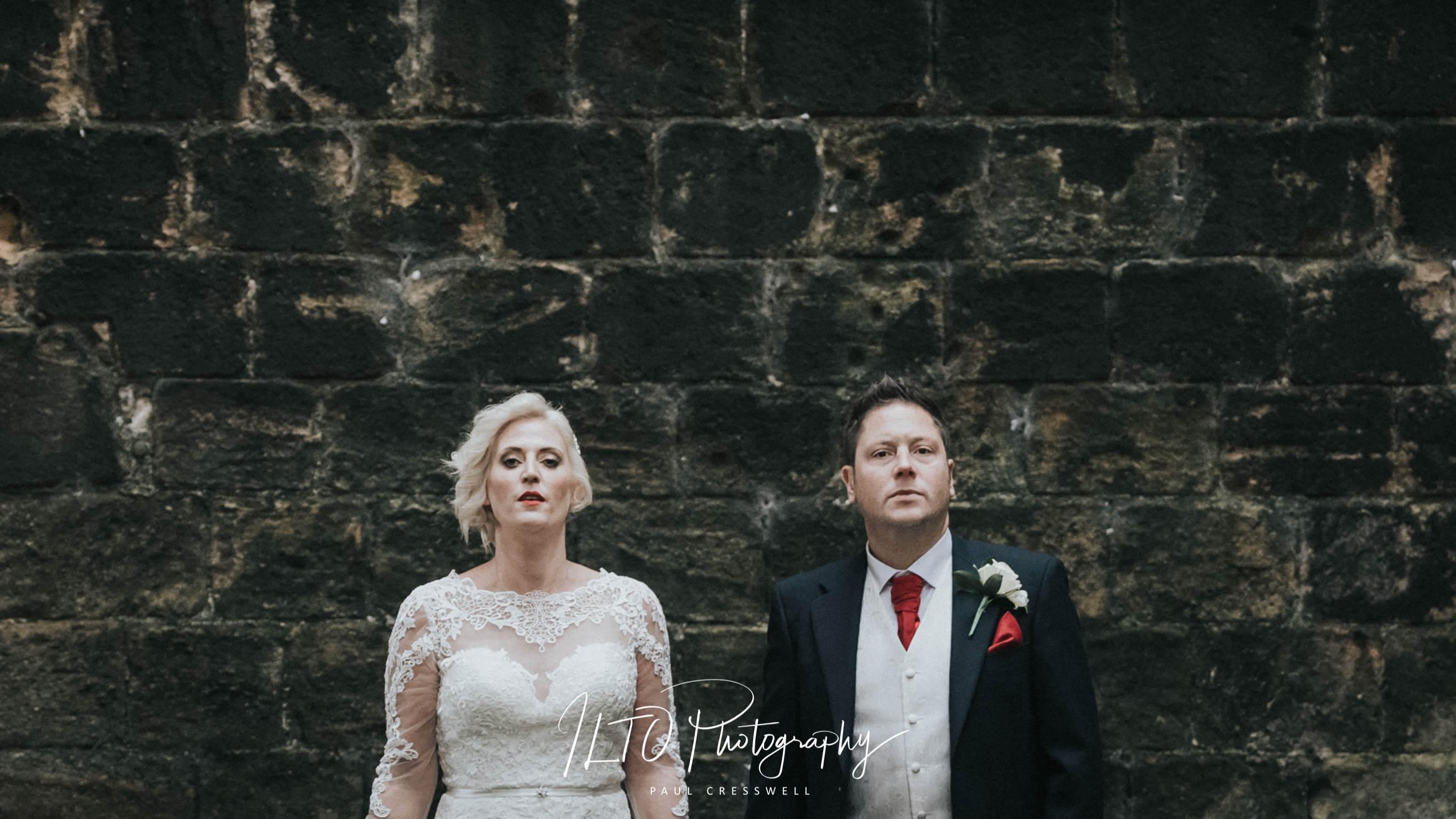 Artistic wedding photos Leeds