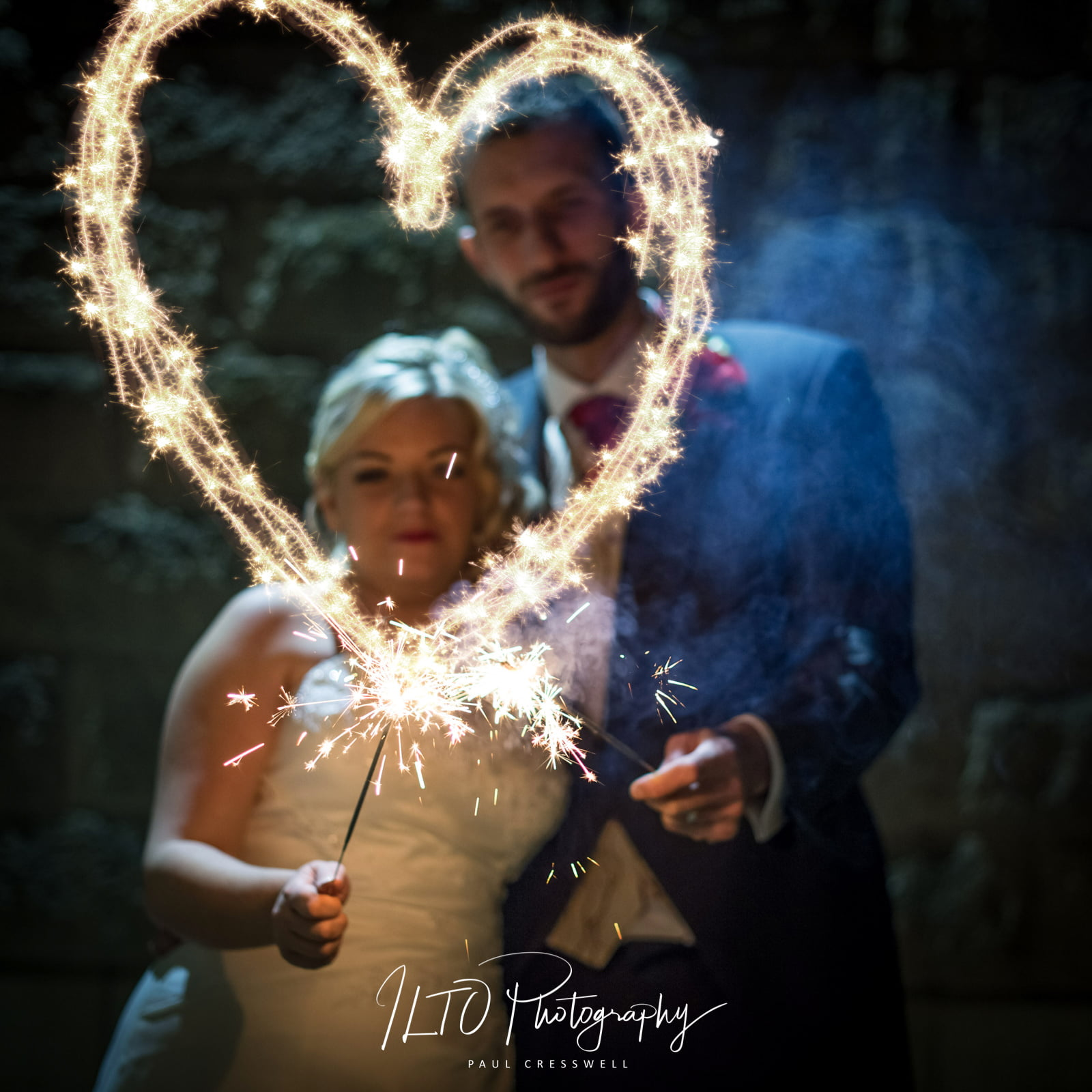 sparkler photography, Leeds wedding photographer!