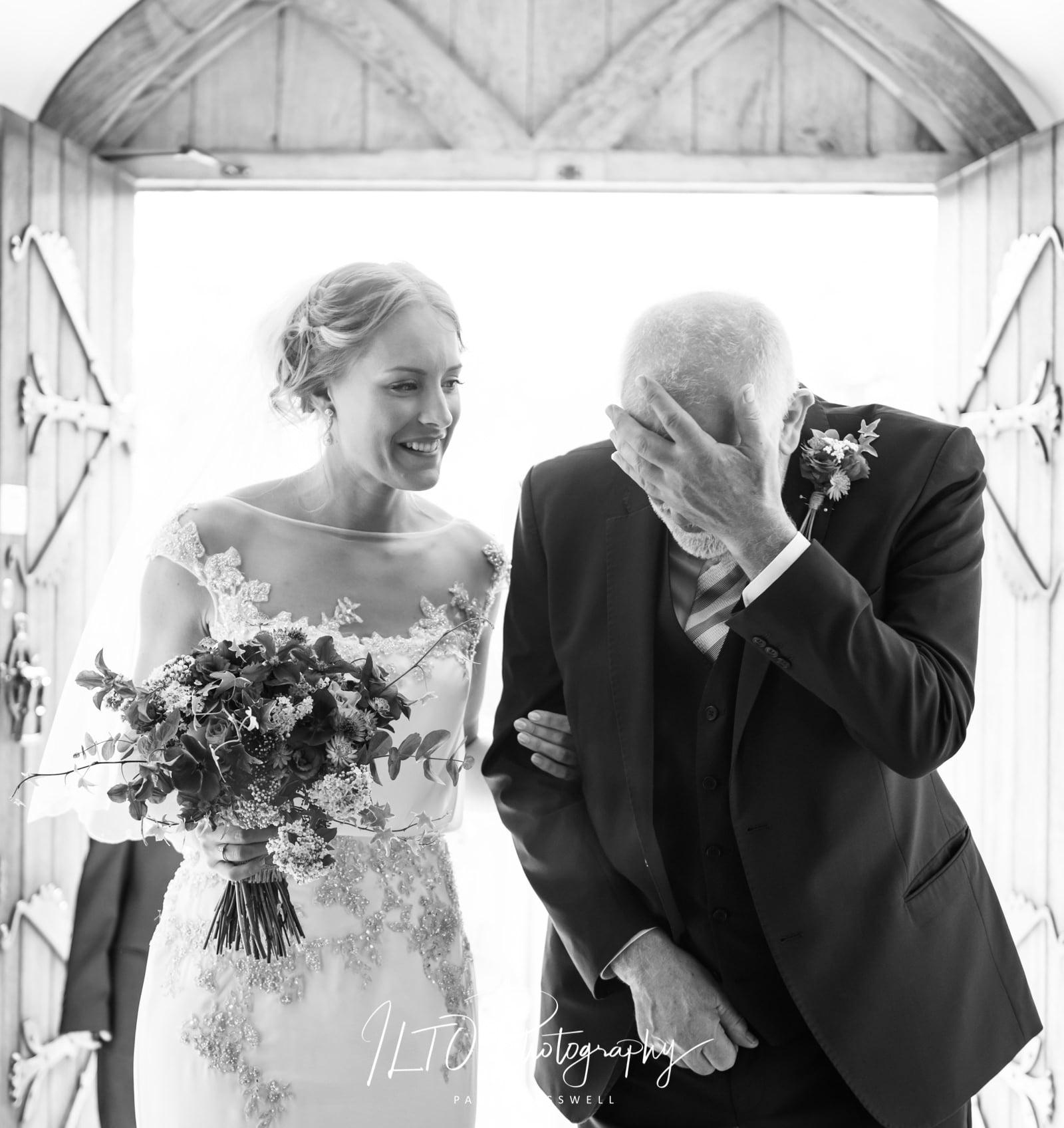 Yorkshire fine art wedding photos, emotional