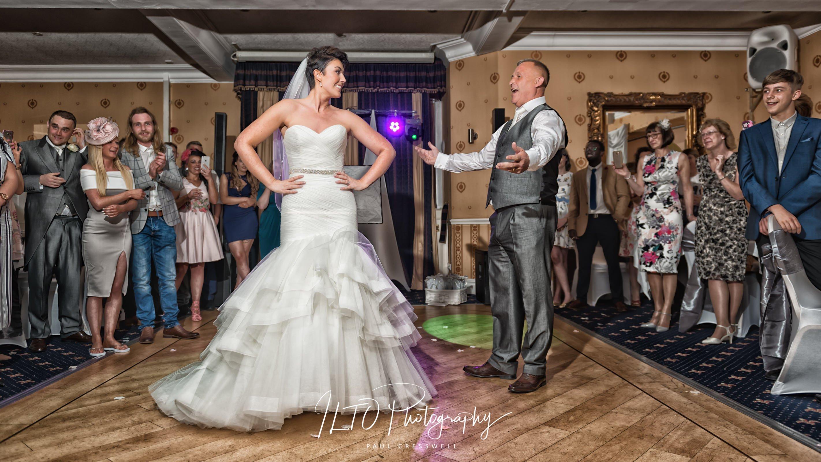funny wedding photos Leeds wedding photographer