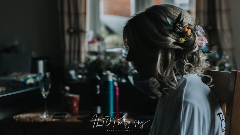 bridal photos Yorkshire wedding photographer