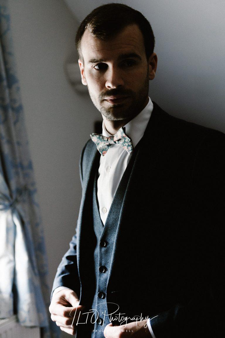 documentary wedding photography groom prep