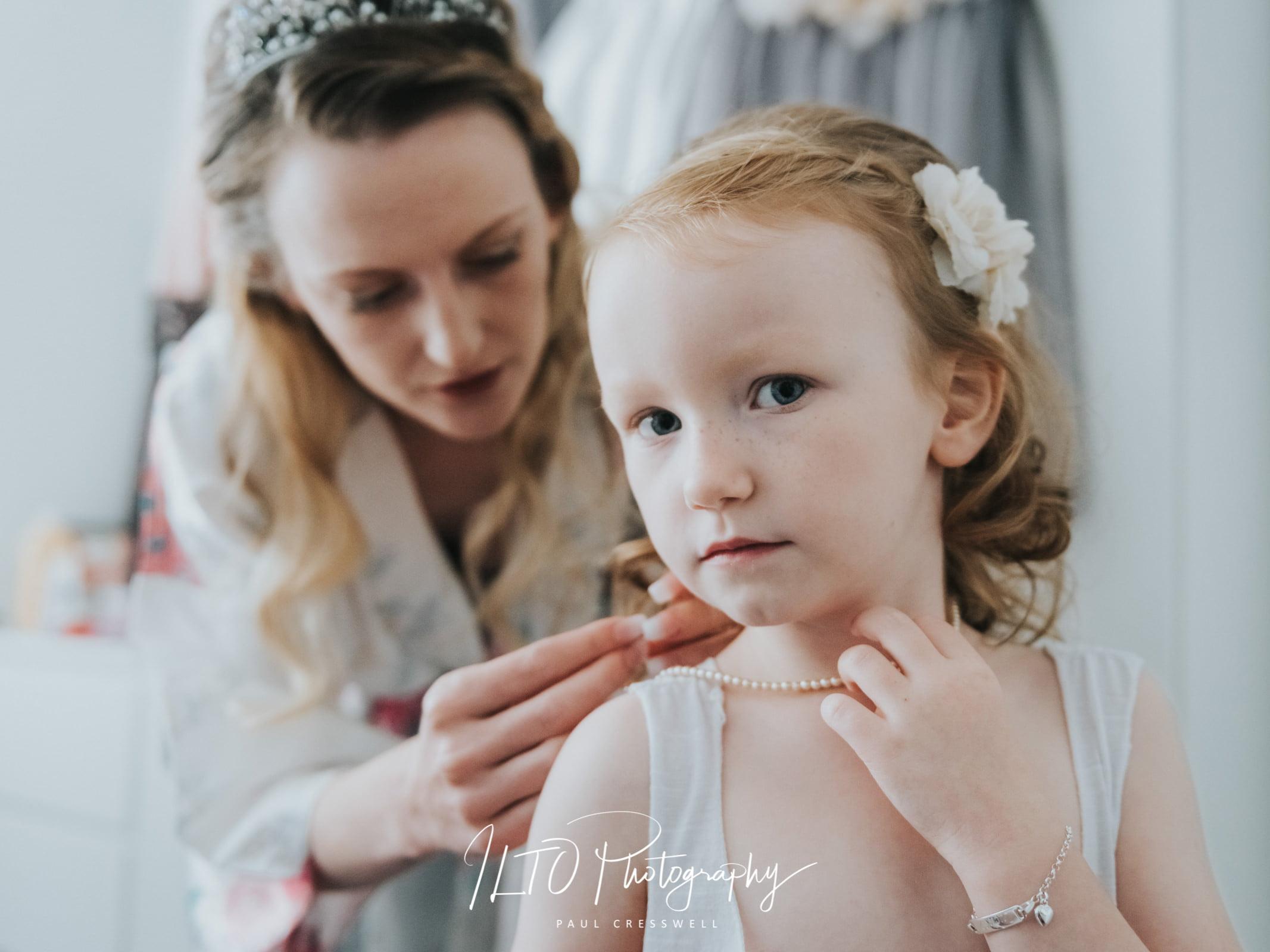 Wedding Portfolio, Leeds Photographer, flower girl