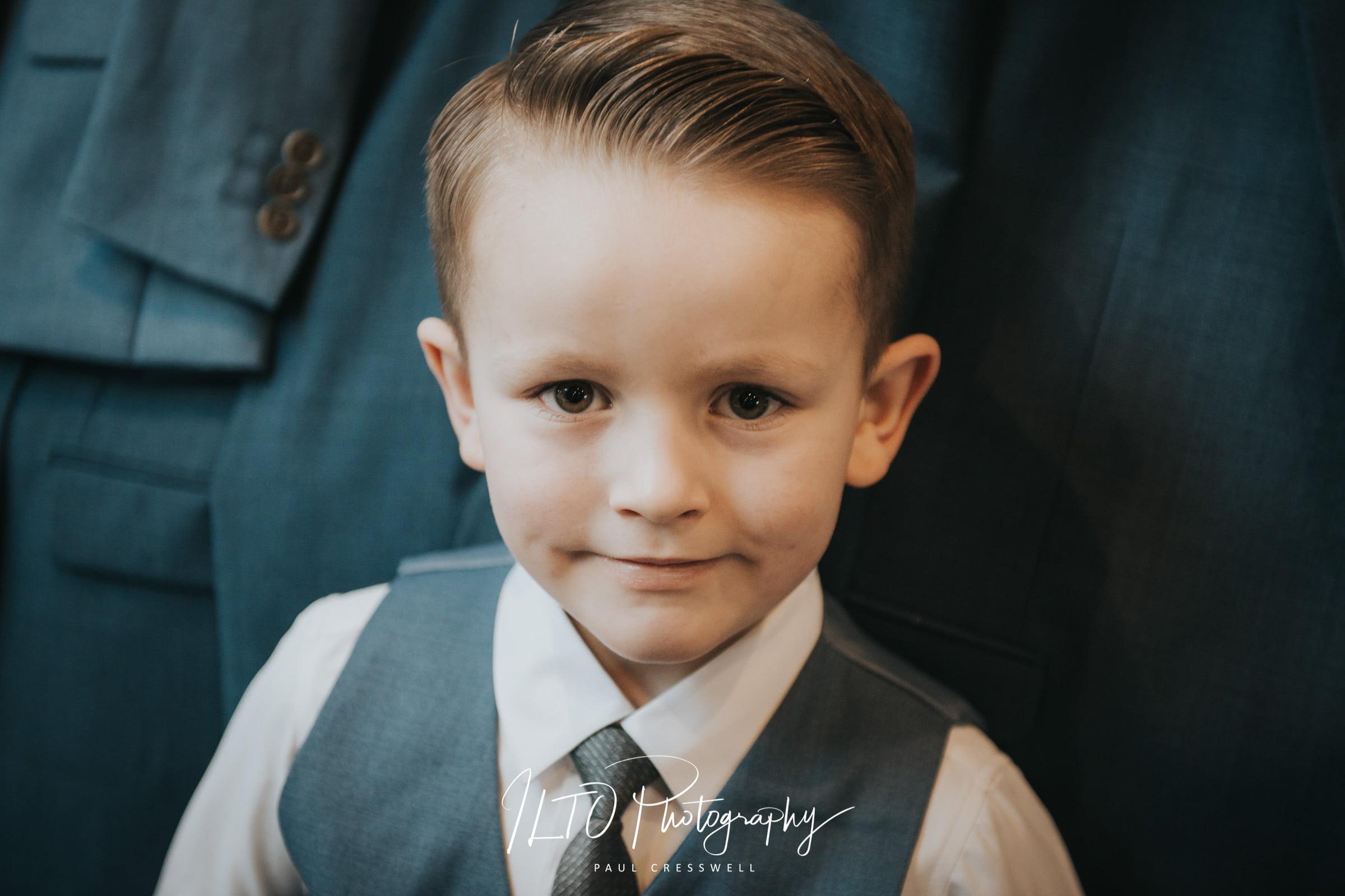 Wedding Portfolio, young boy in a suit