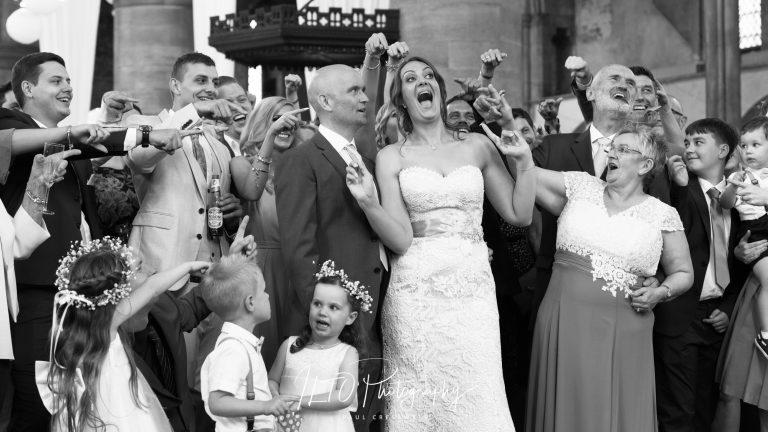 Left Bank Leeds funny wedding photo