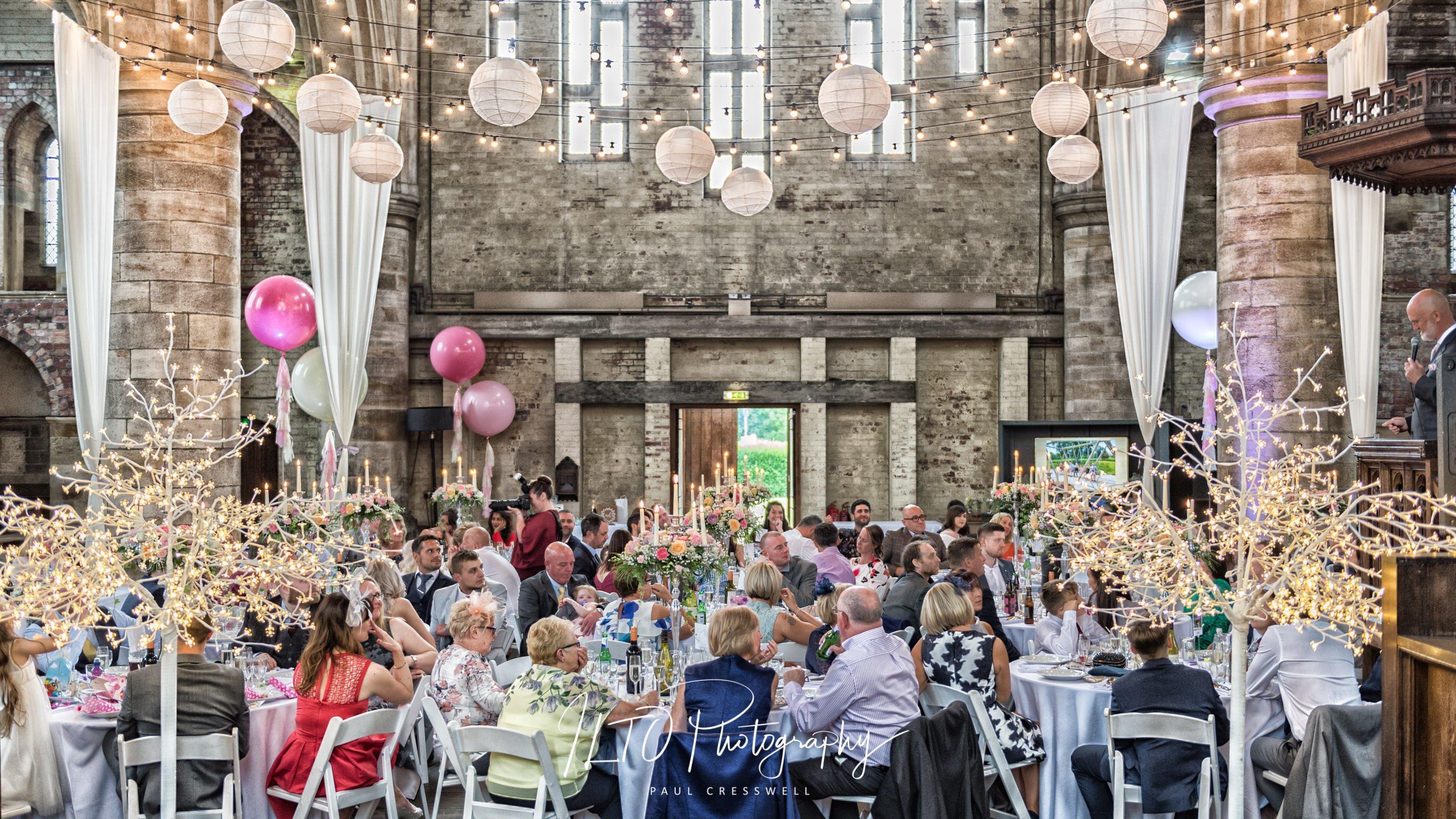 Left Bank Leeds wedding photo
