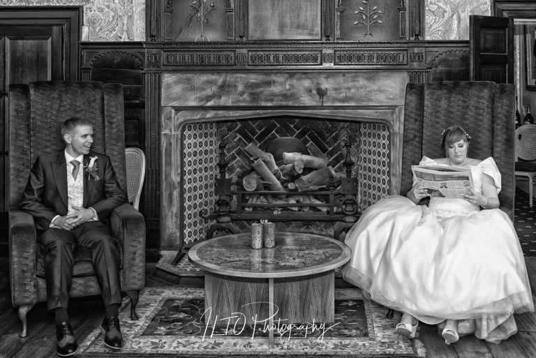 modern funny wakefield wedding photographer yorkshire waterton park