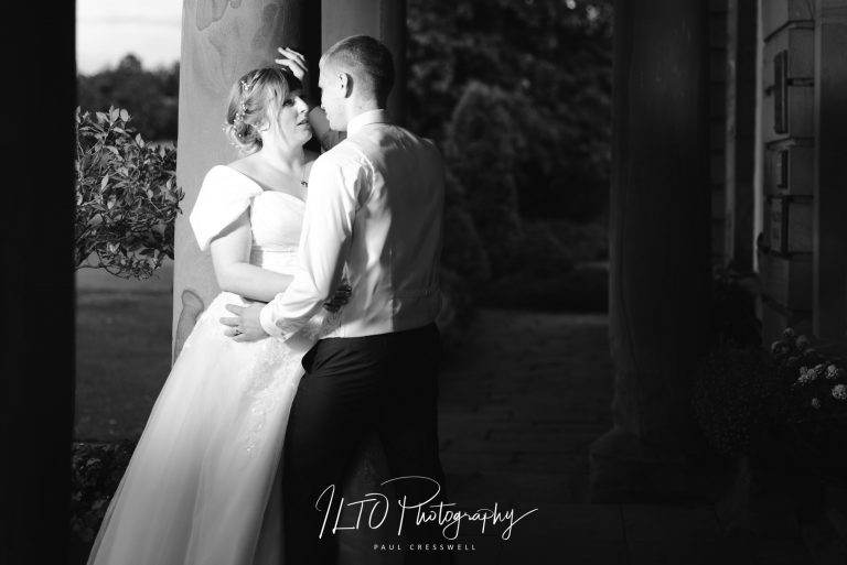 black and white photos artistic wakefield wedding photographer waterton park