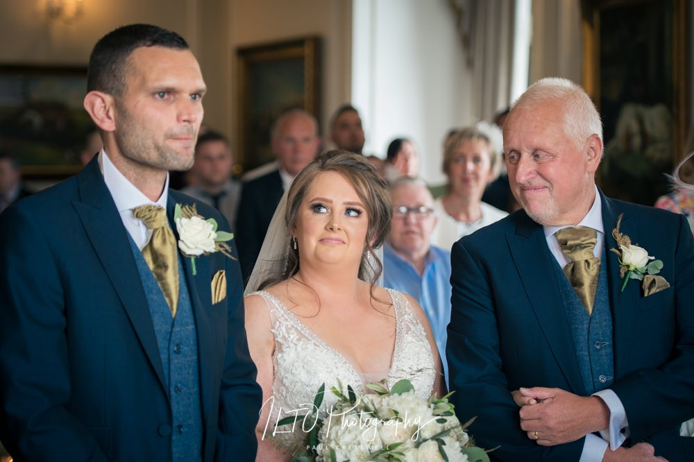 Goldsborough Hall wedding photography, Yorkshire based wedding photographer