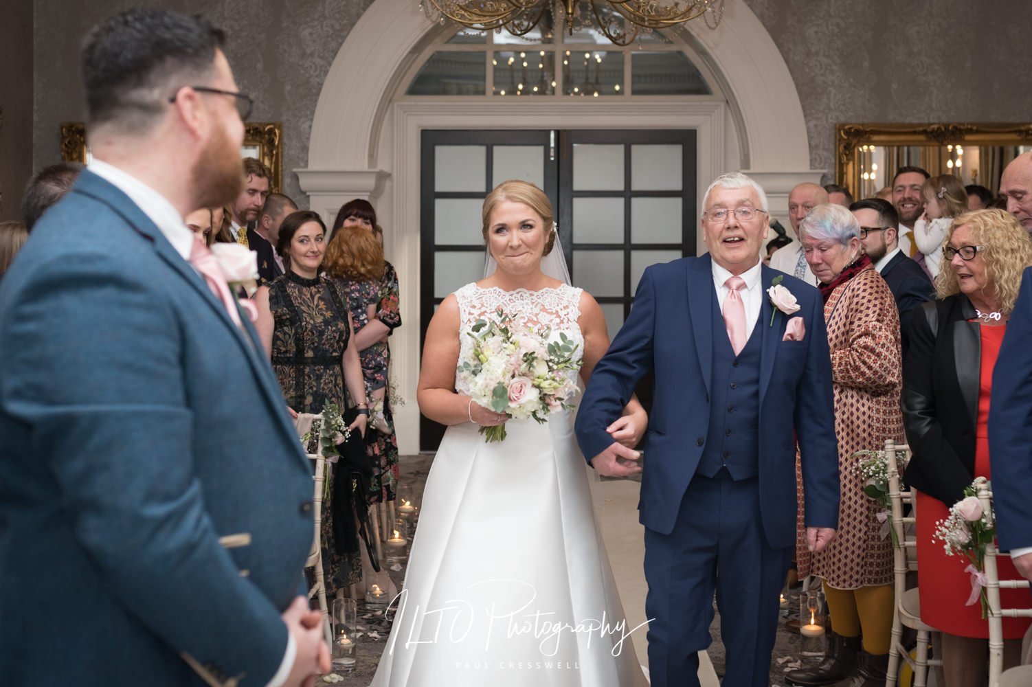 Oulton Hall wedding, ILTO Photography