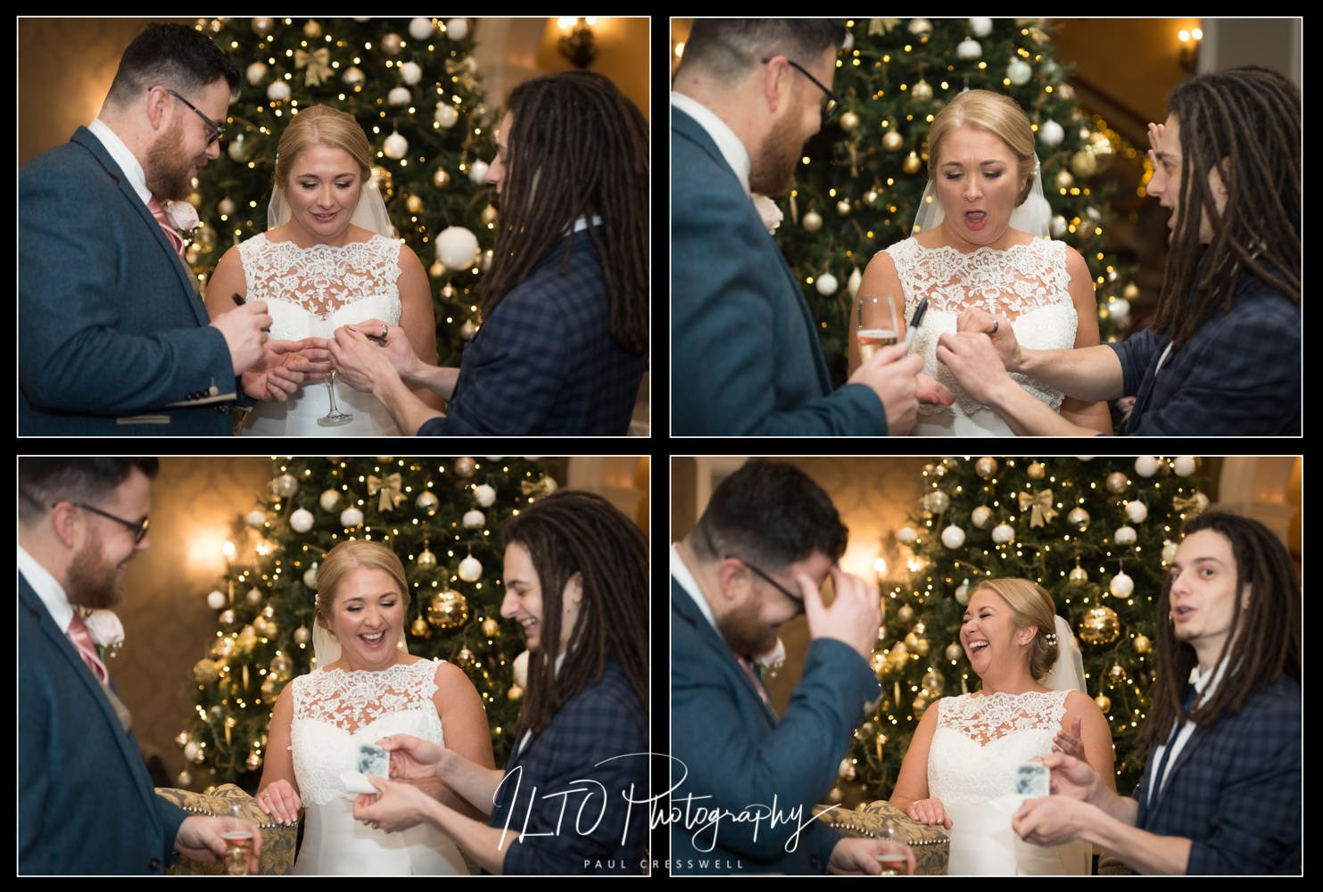 Oliver twist parker magician, pluton hall wedding, ILTO Photography