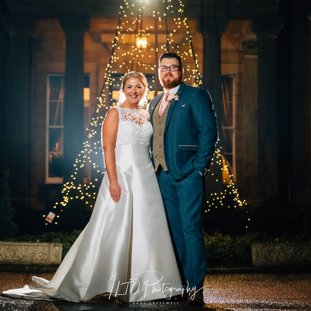 Christmas wedding photography ideas, Oulton hall wedding, west yorkshire wedding photographer