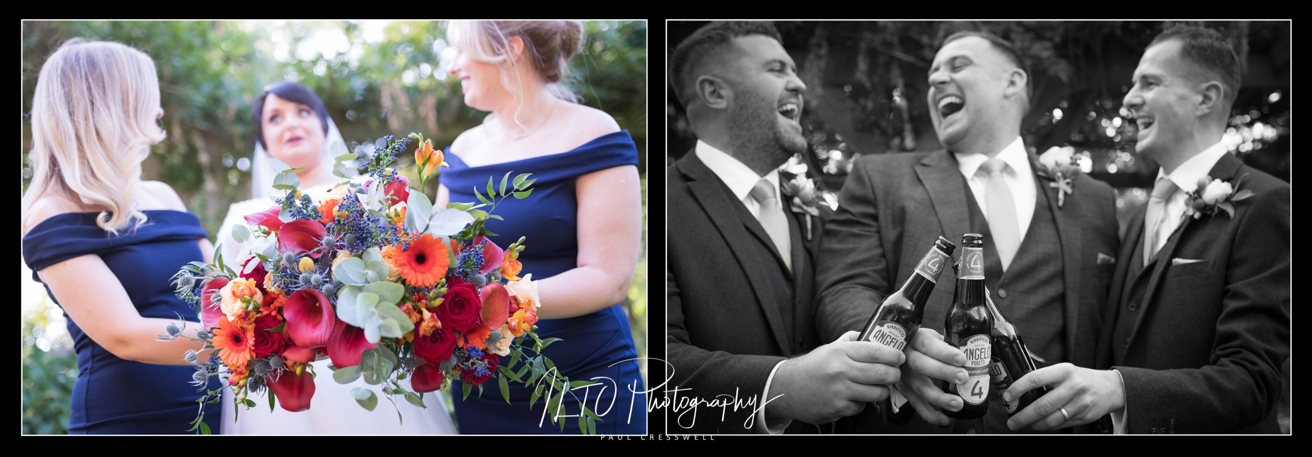 Creative funny wedding photographer west yorkshire ILTO photography