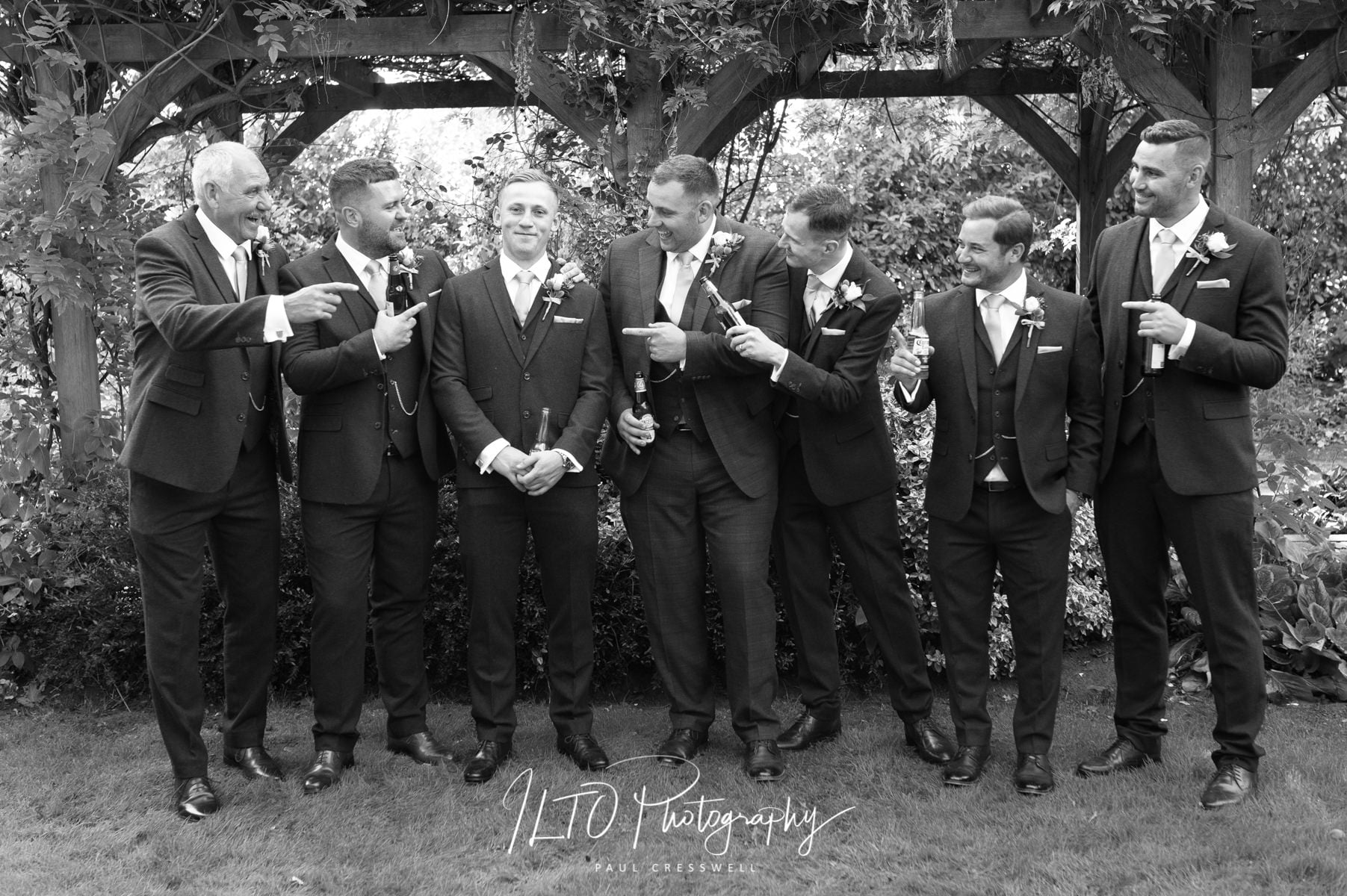 funny wedding photographer yorkshire ILTO photography