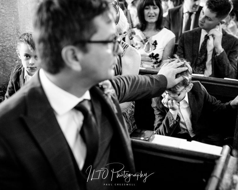 Church wedding photography, west yorkshire