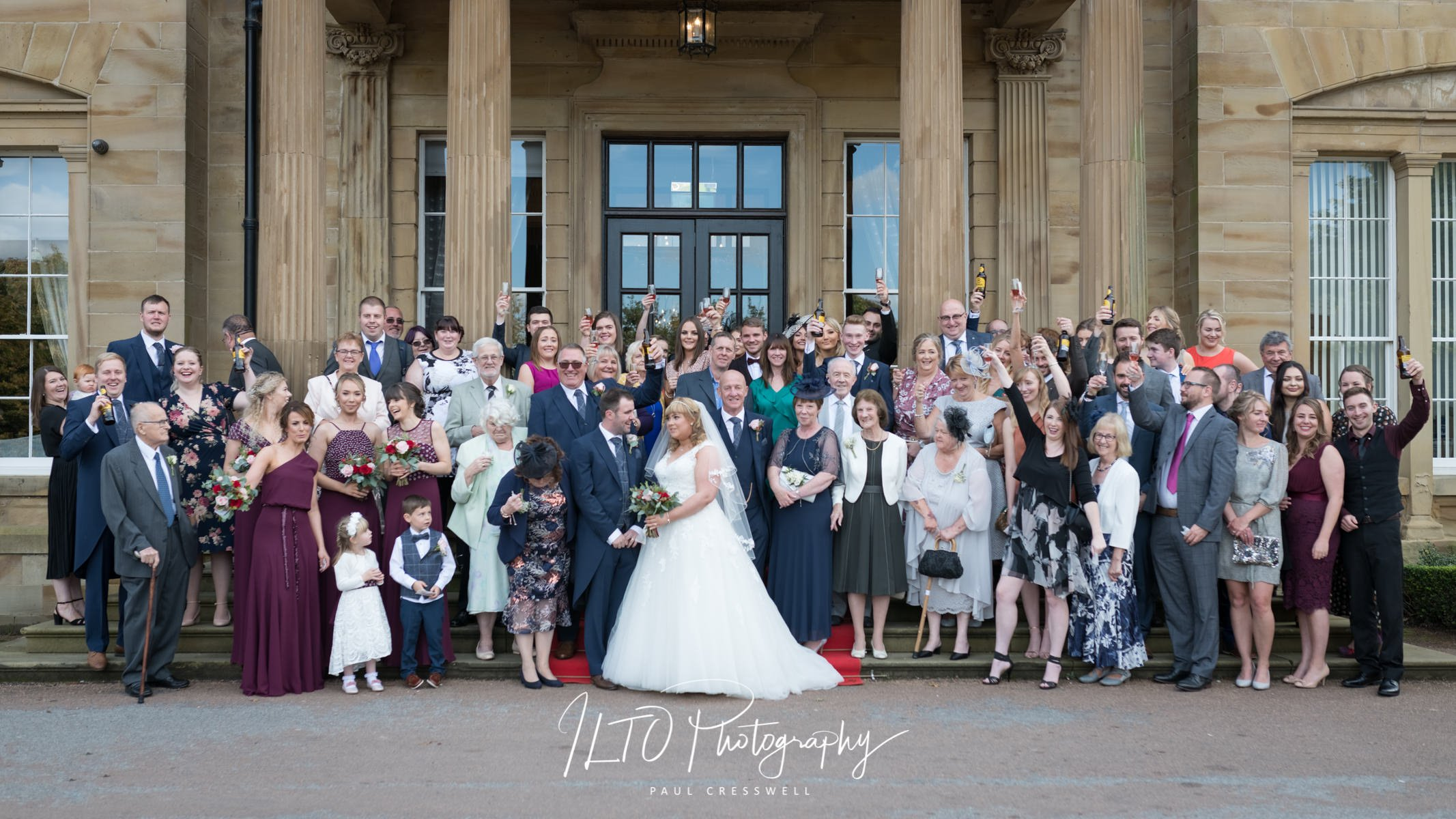 Oulton Hall Wedding Photographer 2019 wedding portfolio Leeds photographer