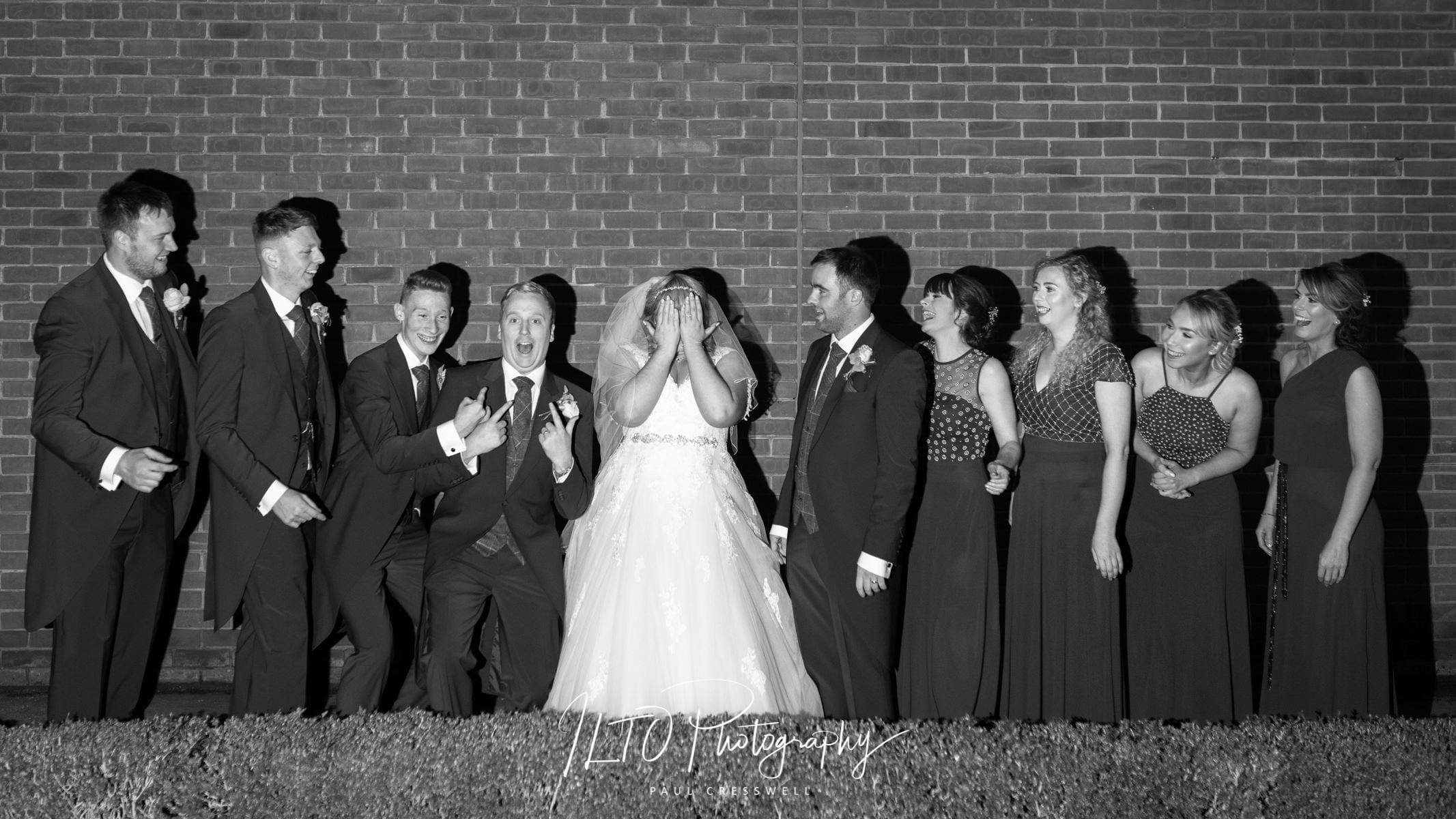 Funny wedding photography, Leeds wedding photographer