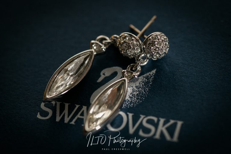 Swarovski wedding earrings for brides