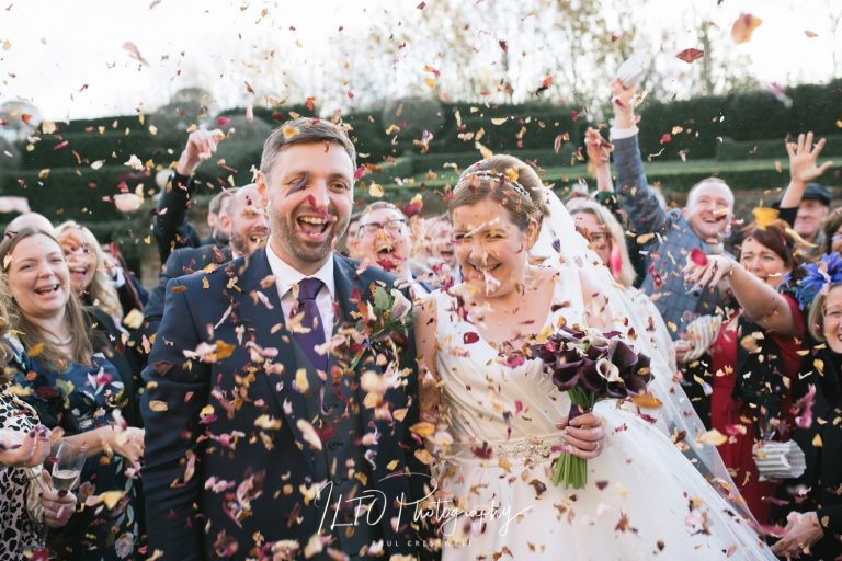 Natural confetti affordable wedding photographer leeds