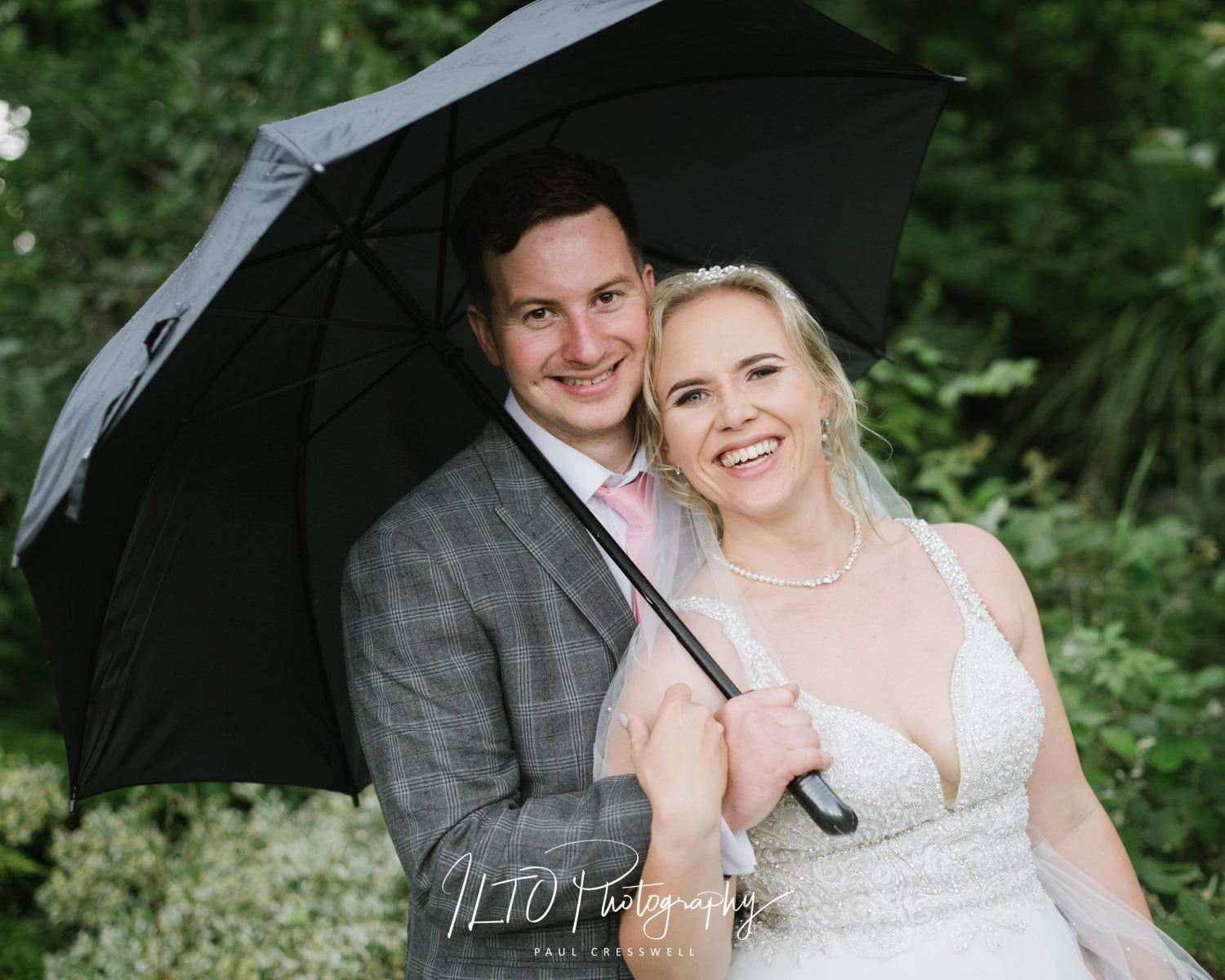 Badgen Hall wet wedding