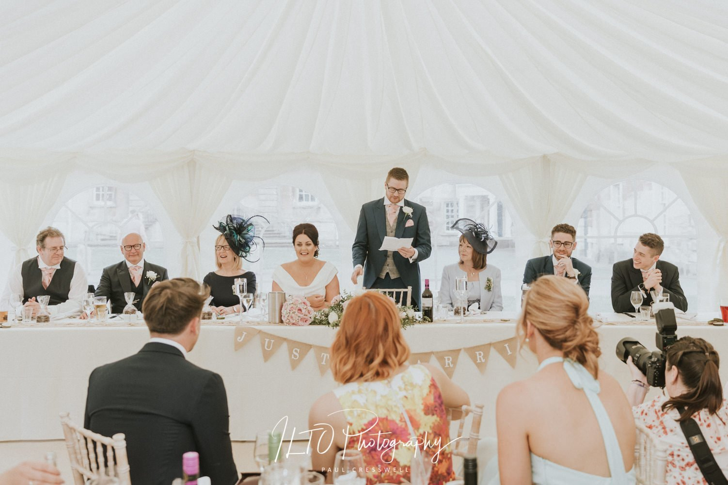 Marquee wedding cusworth hall yorkshire affordable photographer