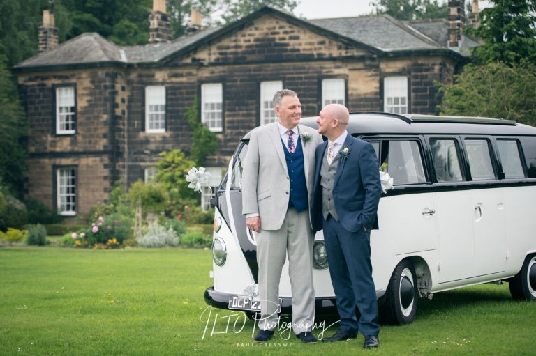 VW Camper van wedding ideas, Yorkshire wedding photographer ILTO Photography