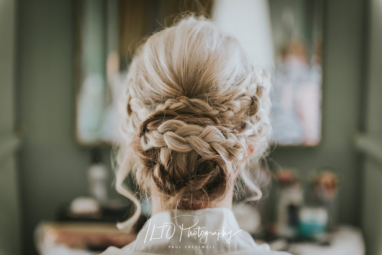 Bride hair style ideas west yorkshire wedding photographer affordable