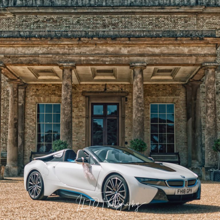 Alternative wedding car BWM i8